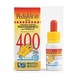 PEDIAVIT 400 GOCCE 15 ML