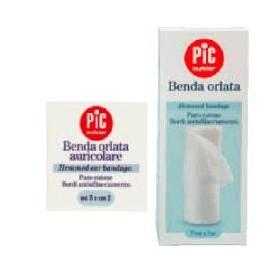 BENDA IN GARZA IDROFILA ORLATA PIC DRESSFIX 10X500CM...
