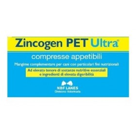 ZINCOGEN PET ULTRA BLISTER 60 COMPRESSE APPETIBILI