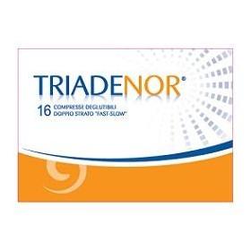 TRIADENOR 16 COMPRESSE 20 G