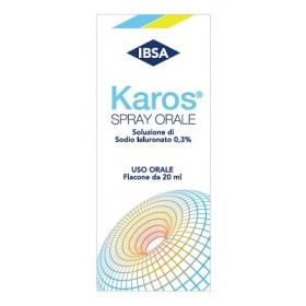 KAROS SPRAY ORALE 0.3% 20 ML