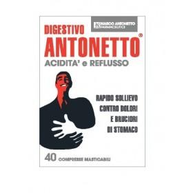 DIGESTIVO ANTONETTO ACIDITA' E REFLUSSO 40 COMPRESSE...