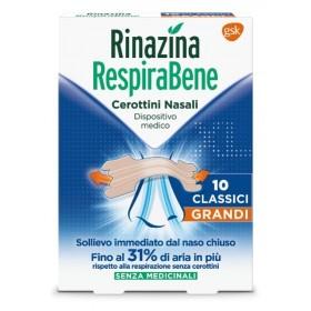 RINAZINA RESPIRABENE CEROTTI NASALI CLASSICI GRANDI...