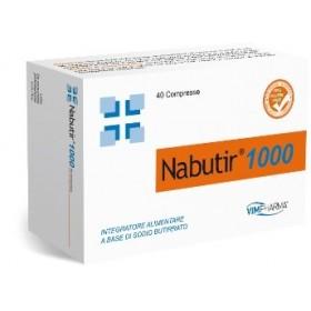 NABUTIR 1000 40 COMPRESSE
