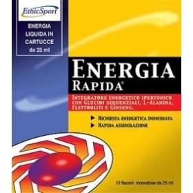 ETHICSPORT ENERGIA RAPIDA+ 10 FLACONCINI 25 ML
