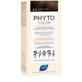 PHYTOCOLOR 5.3 CASTANO CHIARO DORATO LATTE + CREMA +...