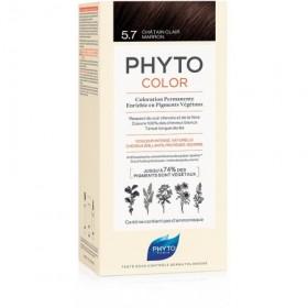 PHYTOCOLOR 5.7 CASTANO CHIARO TAB LATTE + CREMA +...