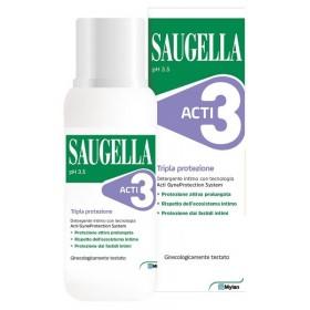 SAUGELLA ACTI3 DETERGENTE INTIMO 250 ML