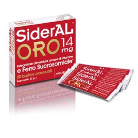 SIDERAL ORO 14 MG 20 BUSTINE