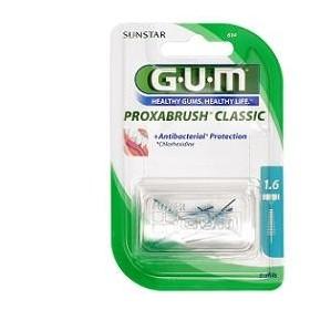 GUM PROXABRUSH CLASSIC 614 SCOVOLINO INTERDENTALE 8 PEZZI