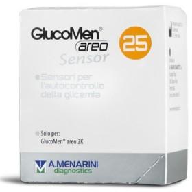 STRISCE GLUCOMEN AREO SENSOR PER ANALISI DEL GLUCOSIO 25...